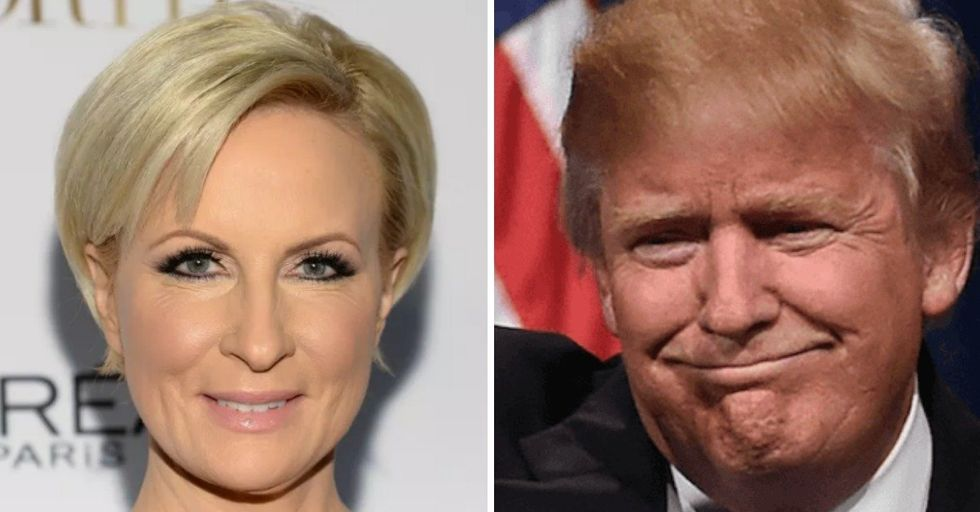 Now President Trump Is Attacking an MSNBC Host For Her 'Bleeding Face-Lift'
