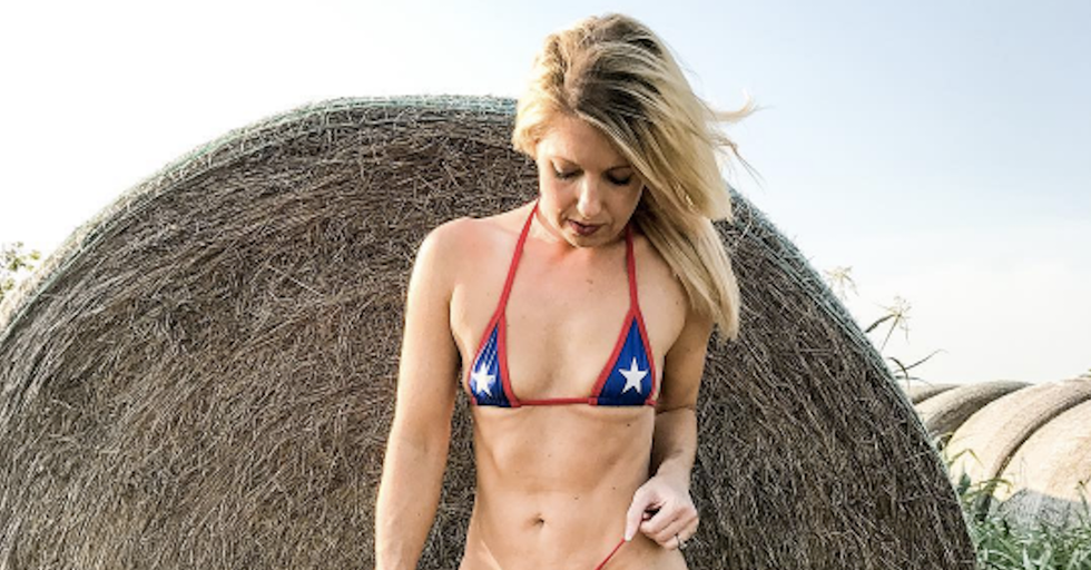 Texas Mom Turned Model Stuns the Internet With Her Post-Workout Body