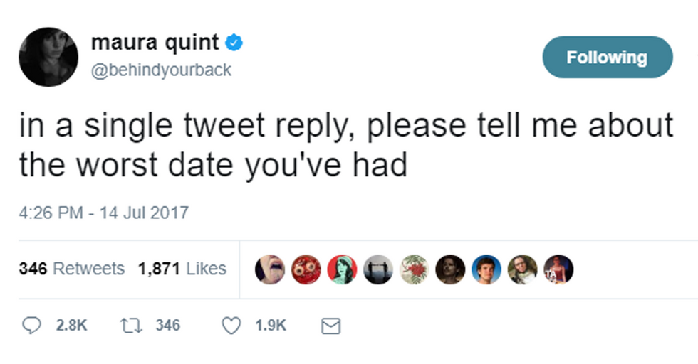 Twitter's WORST Dates Will Make You Both Cringe AND Cry With Laughter