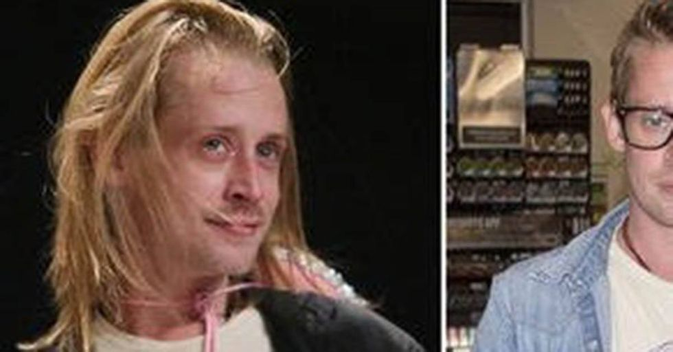Macaulay Culkin Has Been Spotted with a COMPLETELY New Look and...WOW!