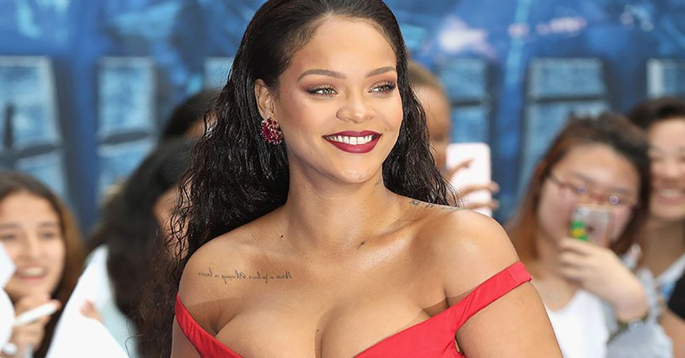 You HAVE To See What Rihanna Wore To the Valerian Premiere
