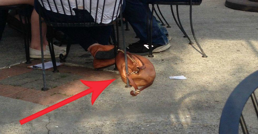 This Mom Thought She Saw an Adorable Dog at a Restaurant, But Boy Was She Wrong