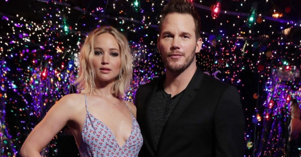 The Internet Is Blaming Jennifer Lawrence For Chris Pratt's Split With Anna Faris