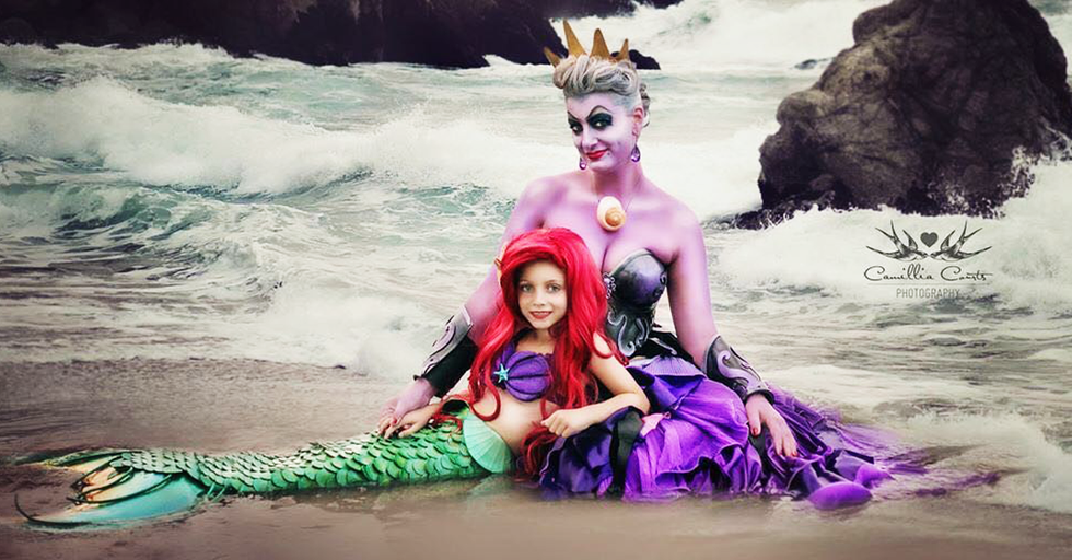 This Mom and Daughter Are SLAYING Disney Dress-Up On Instagram