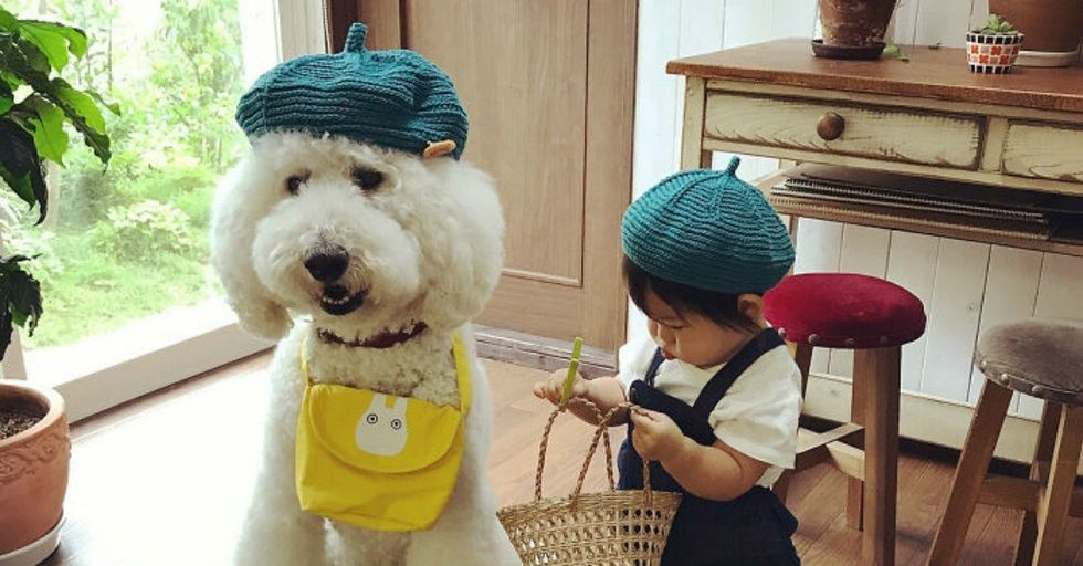 This Adorable Japanese Girl Has an AMAZING Best Friend