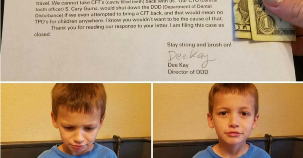 Kid Writes a Demanding Letter To Tooth Fairy and Gets THIS Surprising Response