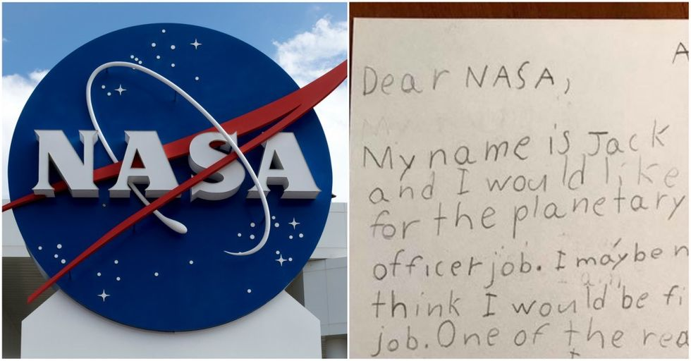 Little Boy Makes BRILLIANT Case For Why He Should Be NASA's Planet Protector