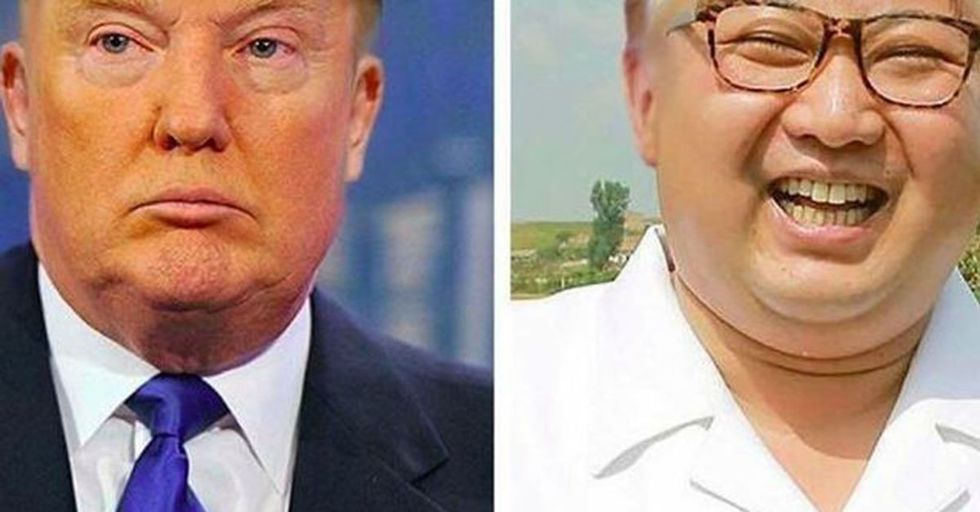 Someone Swapped Donald Trump and Kim Jung-Un's Hair and...It's a BIG Improvement for Both