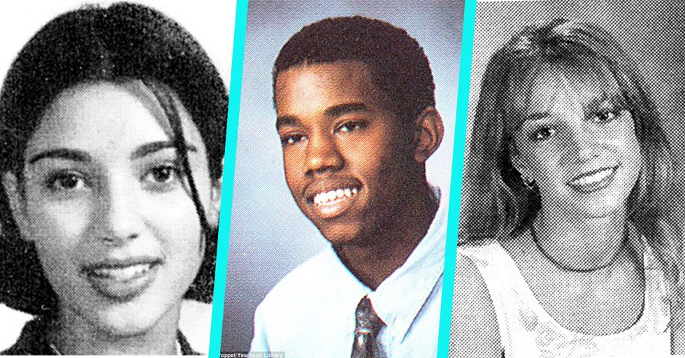 10 Awkward Yearbook Photos of Celebs Before They Were Famous