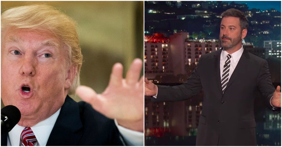 Jimmy Kimmel Announces GENIUS Plan To Finally Rid Country of Trump