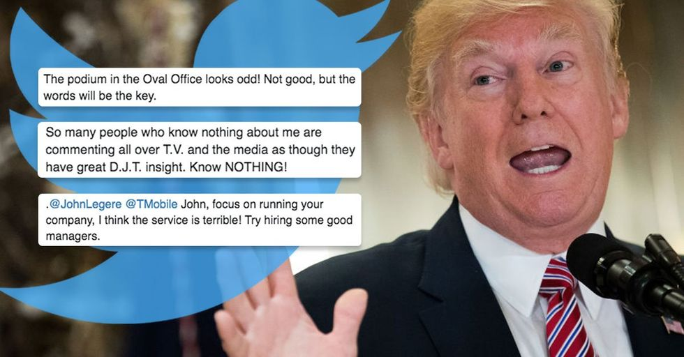 30 Most BIZARRE Insults President Trump Has Ever Tweeted