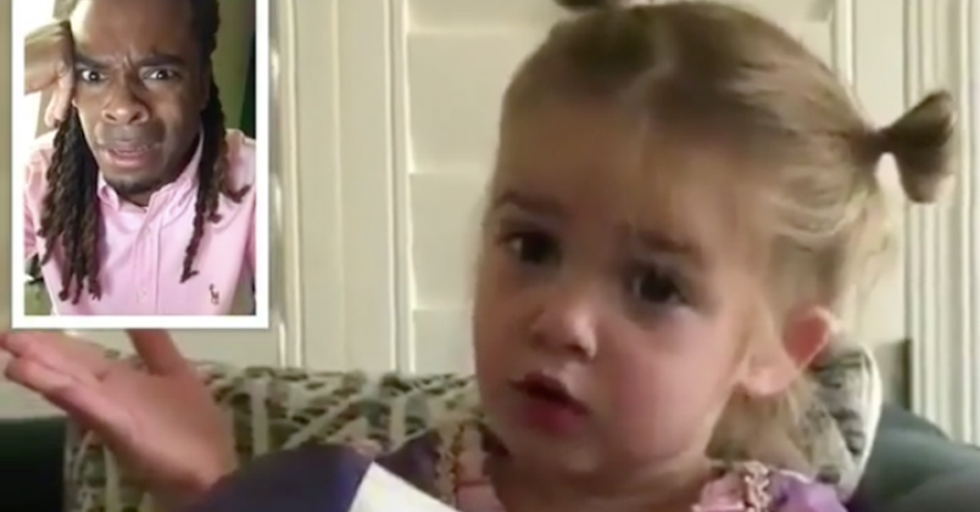 Every One of Us Can Relate To This Sassy Toddler Talking About Her Day at School