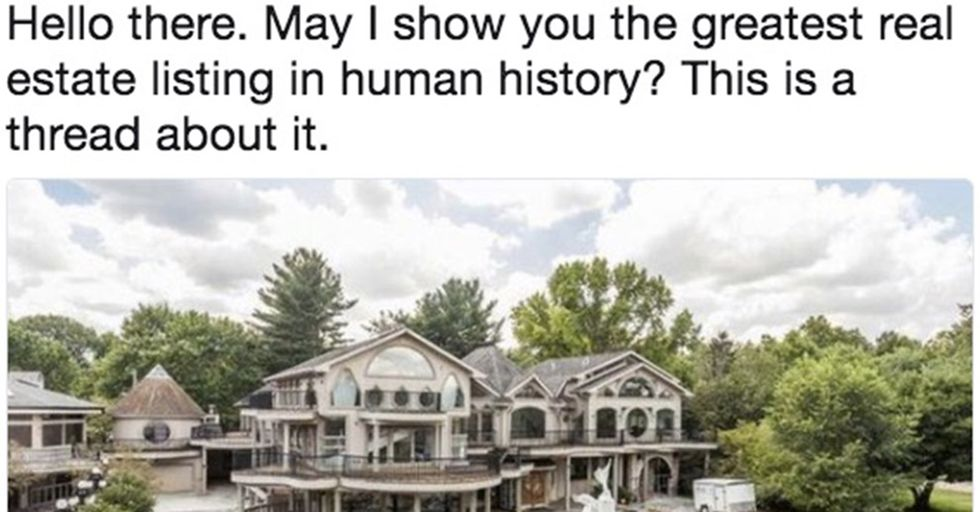 This Bizarre Mansion For Sale Is Insanely Cheap...For a Very Good Reason