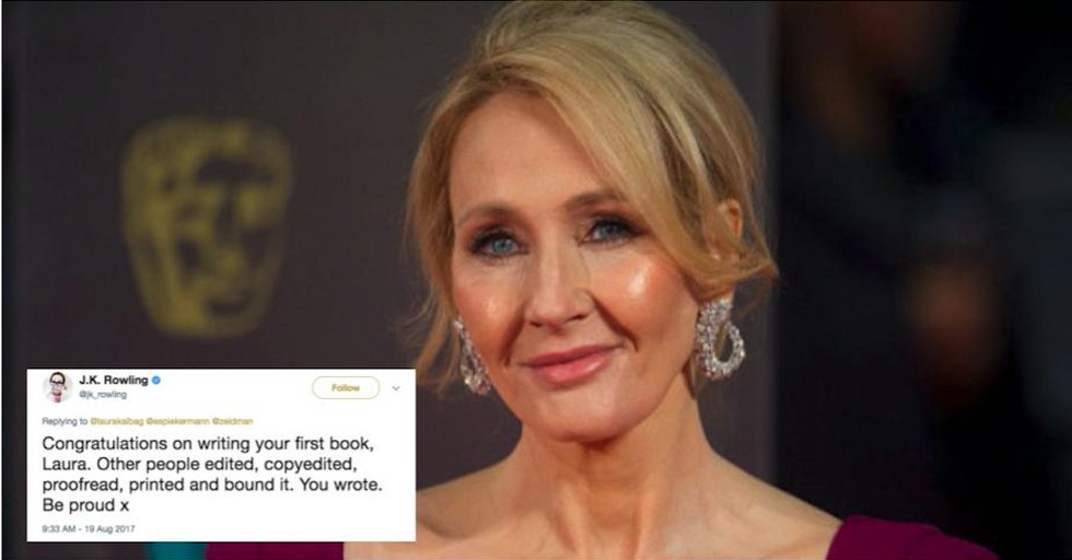 J.K. Rowling OWNS Dude Who Tried To Mansplain Book Publishing On Twitter