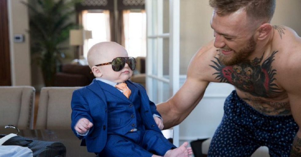 At Only 3 Months Old Fighter Conor McGregor's Son Is Breaking Hearts