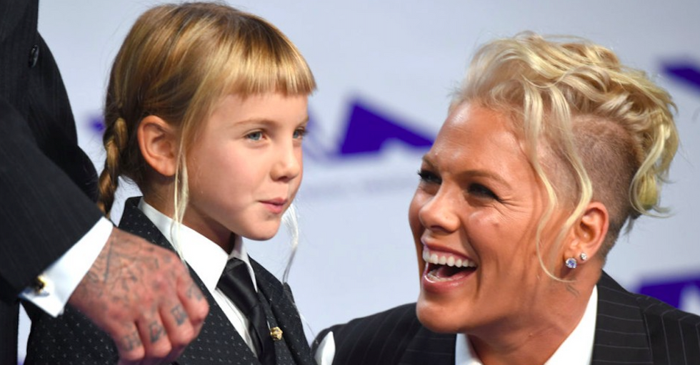 Pink's Empowering Advice To Her Daughter May Move You To Tears