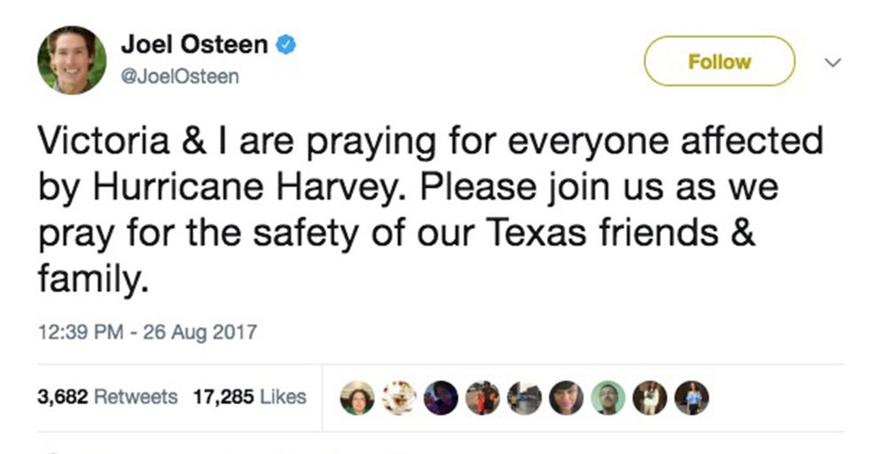 The Real Story Behind Joel Osteen Closing His Church to Hurricane Victims