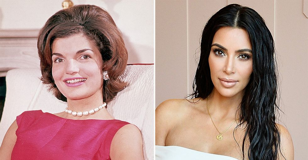 Kim Kardashian Posed as Jackie O for a New Photoshoot, and People Are Not Having It