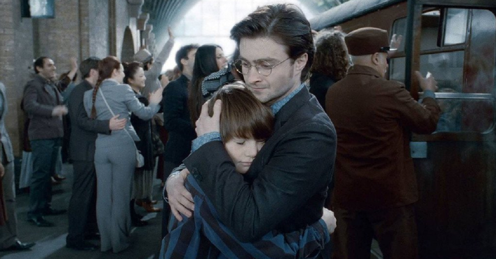 Droves of Harry Potter Fans Showed up at King's Cross Station Today — Here's Why