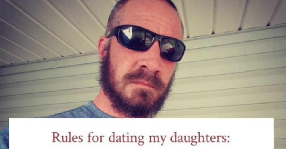 This Dad Made a List of Rules for Dating His Daughters and It Went Viral — but Not for the Reason You Think