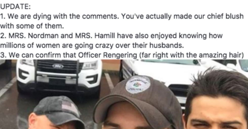 Women Everywhere Are Crushing Super Hard on the Hot Cops of Gainesville, FL