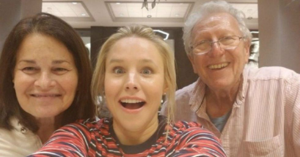 Kristen Bell Got Stuck in Florida so She Saved People from Hurricane Irma and Sang 'Frozen' Songs