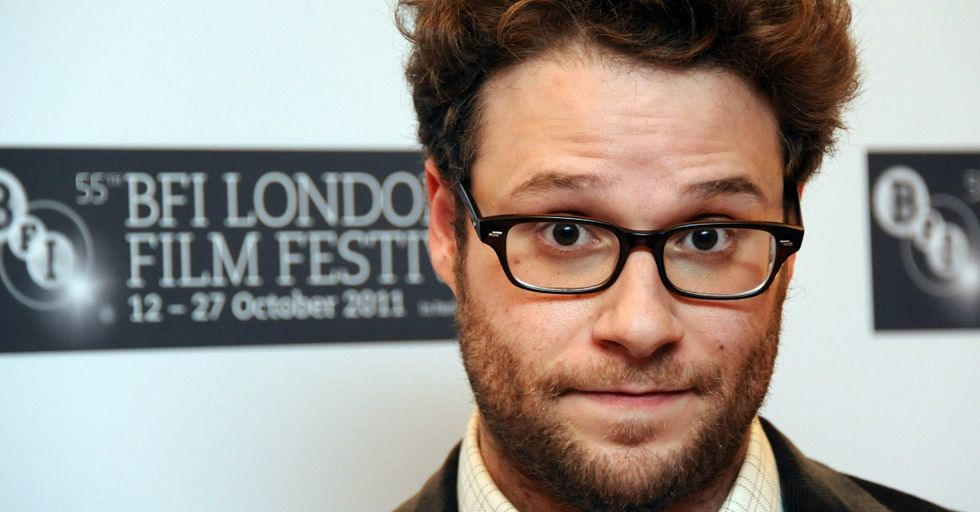 Nicki Minaj Gave Seth Rogen a Shoutout in a Song, and His Reaction Was Beyond Adorable