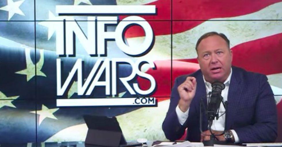 Info Wars' Alex Jones: 'Trump Is Being Secretly Drugged'