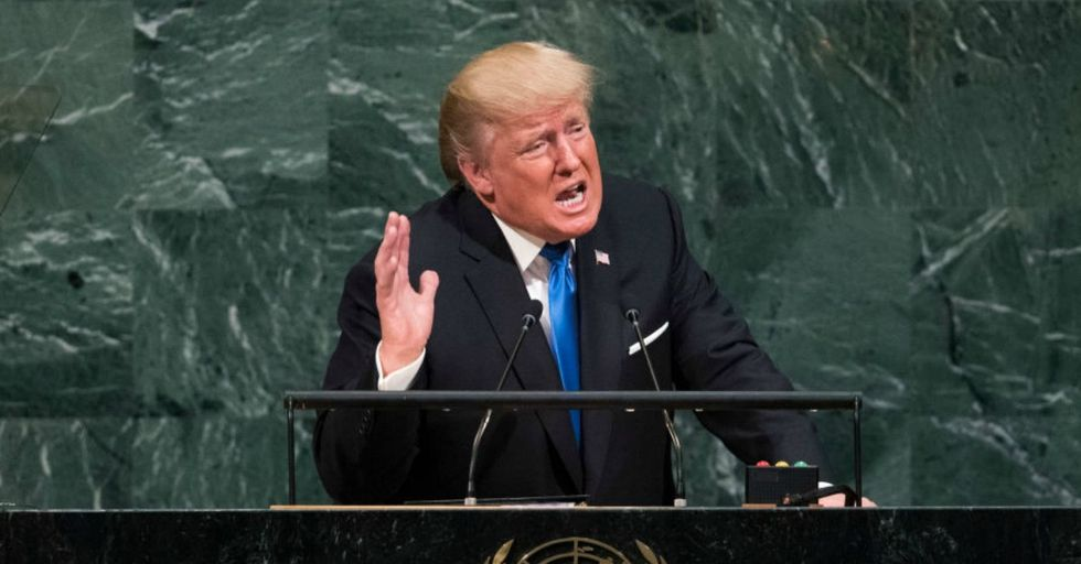 Trump Declares 'Nambia' is a Country in Africa and No One Knows How to React