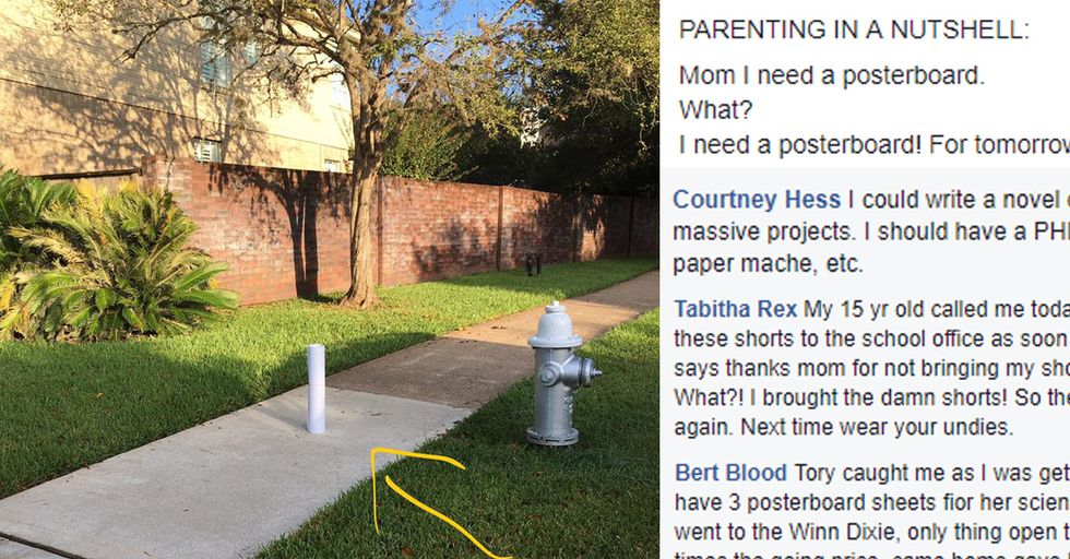 This Lonely Piece Of Poster Board Totally Sums Up Parenting