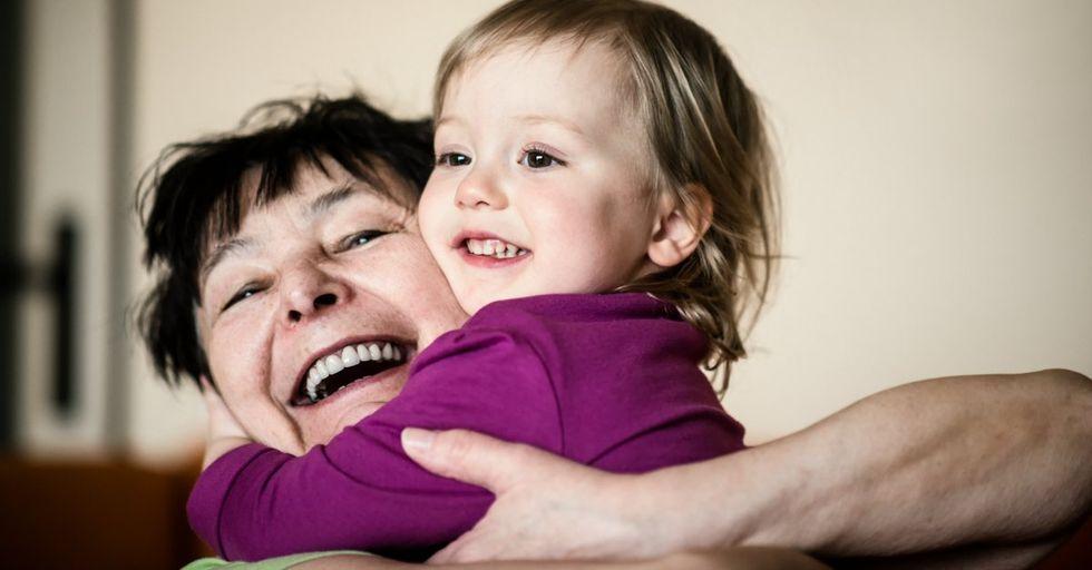 New Study Reveals Grandparents Who Babysit Live Longer