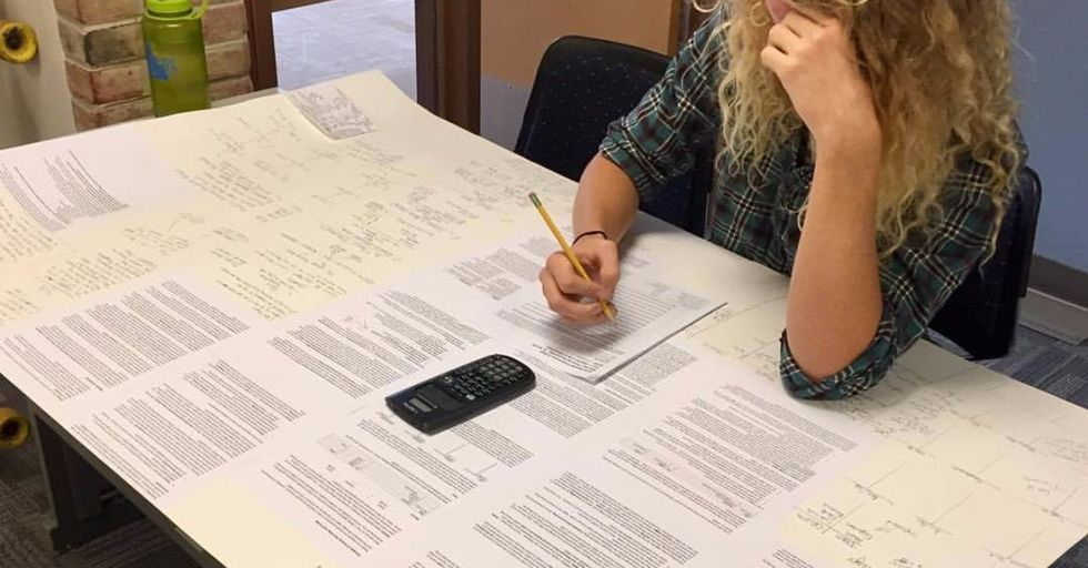 This Smartass Student Found a Giant, Note-Card-Sized Loophole in Their Teacher's Rule — and Got Away with It
