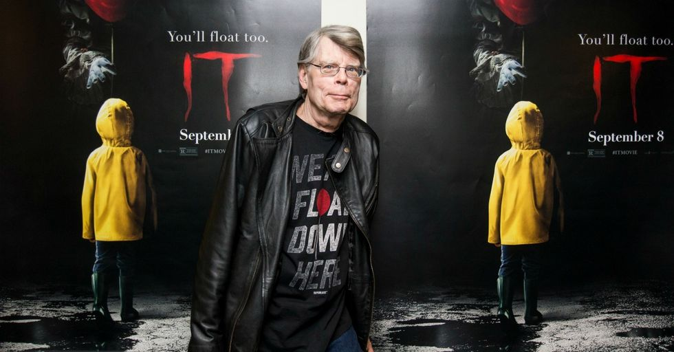You Have to See the Photo Stephen King's School Used to Announce His First Book