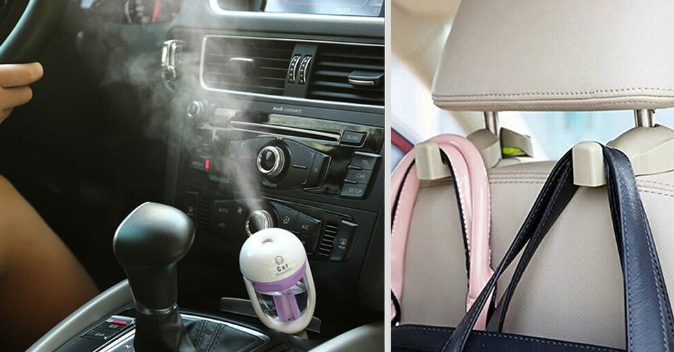 26 Brilliantly Convenient Gadgets To Keep In Your Car