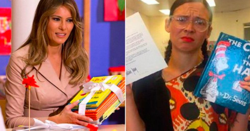 Melania Trump Tried to Donate Books to a School and Was Rejected by the School Librarian
