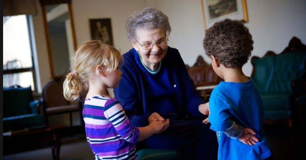 This Incredibly Heartwarming Story About a Seattle Retirement Home That Doubles as a Preschool Will Give You the Smile You Need Today
