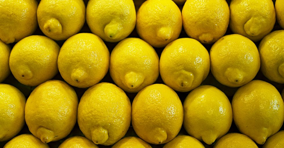 This Now-Viral Picture of Lemons Could Help You Detect Early Breast Cancer — and Potentially Save Your Life