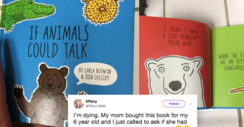 This Sweet Grandma Accidentally Sent Her 6-Year-Old Granddaughter a Book FILLED with Profanity