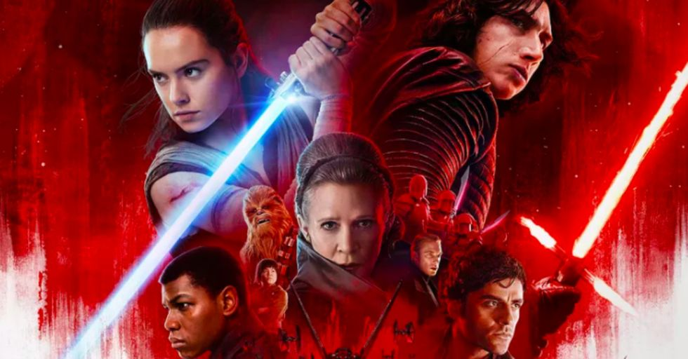 Here's the Brand New Star Wars Trailer, but the Writer/Director Says Not to Watch It