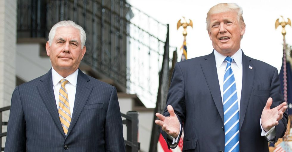 Trump Just Challenged the Secretary of State to an IQ Test to Prove He's Not a Moron