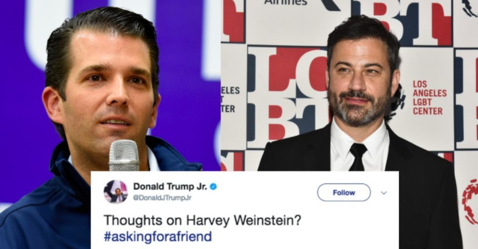Donald Trump Jr. Tried to Troll Jimmy Kimmel, and It Did NOT Go Well