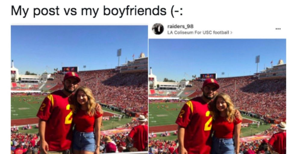 The Hilarious Difference Between Couple's Instagram Captions are Relationships in a Nutshell