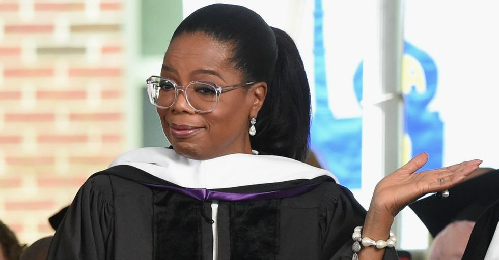 In This Hilarious Video, Oprah Explains That She Went to a Bank to Deposit One Million Dollars Just for Fun