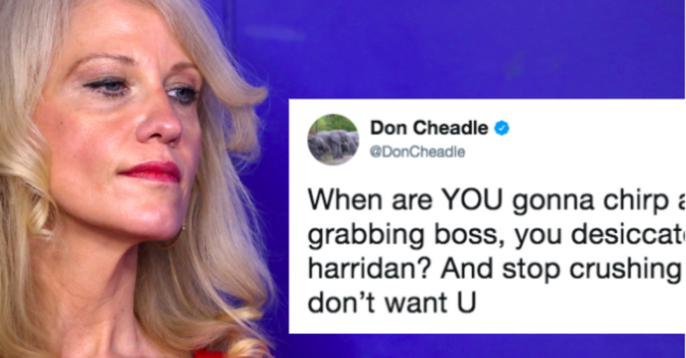 We Just Got Sent to the Dictionary to Understand This Brutal Insult of Kellyanne Conway