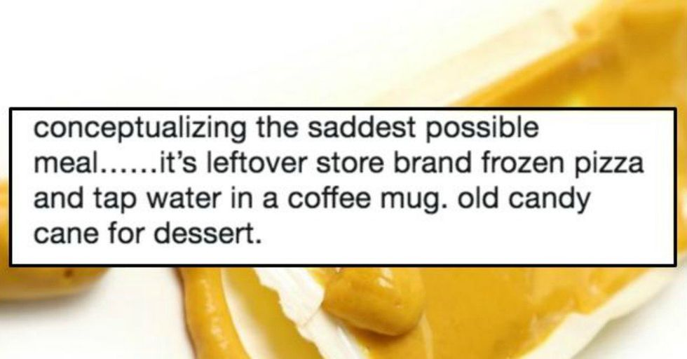 Boxed Mac and Cheese Minus the Cheese, and 11 More of the Saddest Meals Ever Conceived