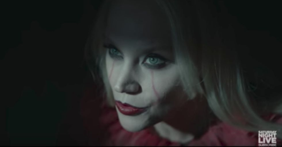 Kate McKinnon's Turn as 'Kellywise' the Clown Was Hands Down the Best Part of 'SNL'