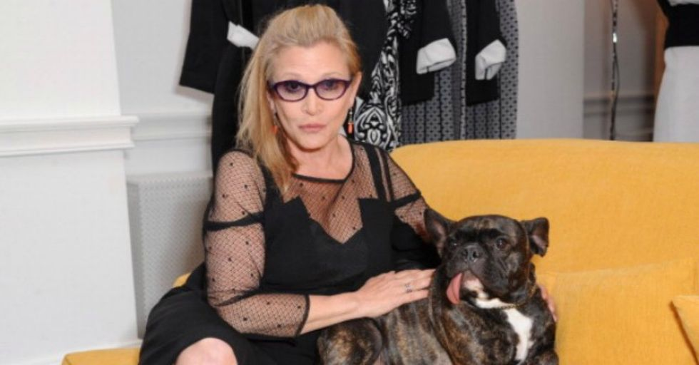 Carrie Fisher Sent a Very Special Present to the Producer Who Sexually Harassed Her Friend