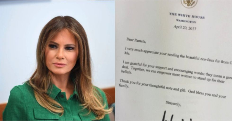 This Detail in Melania Trump's Signature Is Blowing People's Minds