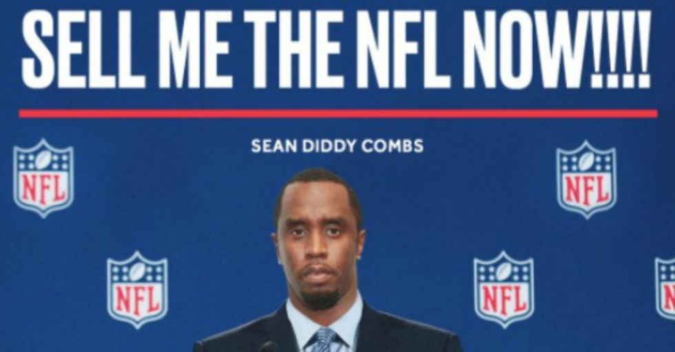 Superstar Rapper and Producer Sean 'Diddy' Combs Wants to Buy the NFL — Yes, Really