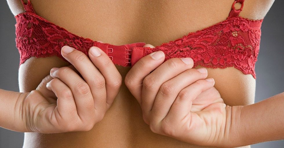 Turns Out You've Been Putting Your Bra On Wrong Your Whole Life